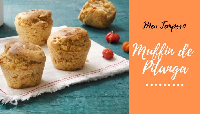 Muffin de Pitanga - Receita Para Dieta Fitness