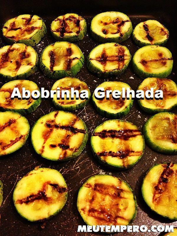 Abobrinha Grelhada